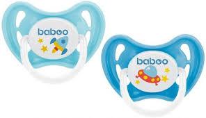 <b>Соска</b>-<b>пустышка Baboo</b> Space силиконовая, ночная, 0+ - купить в ...