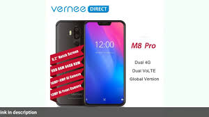 <b>Vernee M8 Pro 6.2</b> Notch Screen 6GB RAM 64GB Smartphone ...