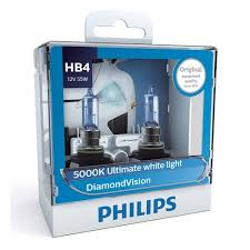 <b>Лампа</b> галогенная <b>PHILIPS</b> HB4 <b>Diamond</b> Vision 12V-55W P22d ...