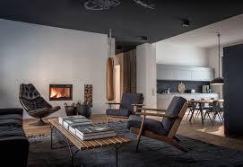 Homes Interior Designs 4 beautiful dark themed homes 7379 by uwakikaiketsu.us