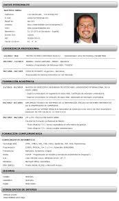 curriculum vitae ejemplo tk category curriculum vitae