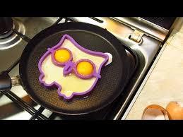 Cиликоновая <b>форма для яичницы</b> Сова! Форма для яиц. - YouTube