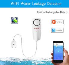 KONLEN <b>WIFI</b> Liquid <b>Leak Sensor</b> Wireless <b>Water</b> Level Detector ...