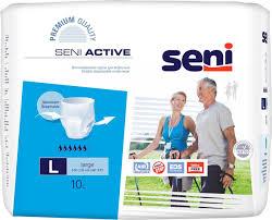 """Трусы впитывающие для взрослых """"Seni Active"""", одноразовые ..."""