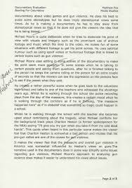 bowling for columbine essay template bowling for columbine essay