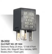 electronic relay 25 amps 12 volt 4 point santro, alto, wagon r Suzuki Wagon R Fuse Box electronic relay 25 amps 12 volt 4 point santro, alto, wagon r telco vehicles, mpfi models (horn head light) (hp 39 3532) suzuki wagon r fuse box layout