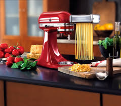 kitchen aids appliances red pasta maker by kitchenaid artisan for kitchen appliances item coll