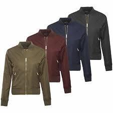 <b>Bomber</b> Jacket Coats, Jackets & Waistcoats for <b>Women</b> for sale | eBay