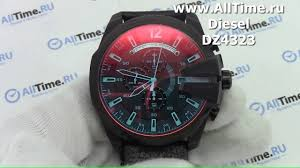 Обзор. <b>Мужские</b> наручные <b>часы Diesel</b> DZ4323 с хронографом ...