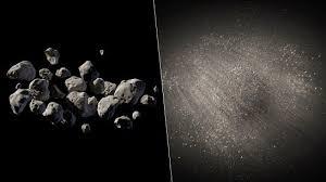 No solo la gravedad mantiene unidos a los asteroides