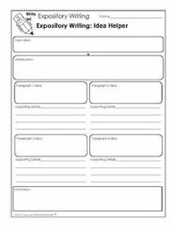 research report informational writing and anchor charts on pinterest expository writing worksheet that helps students generate ideas for their paper
