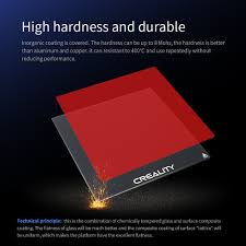 <b>CREALITY</b> 3D Tempered Glass Build <b>Platform</b> Size 235*235*4mm ...