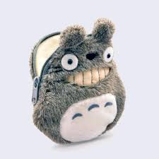 "<b>Totoro</b> 5"" Coin Purse (<b>Smiling</b>) – GiantRobotStore"