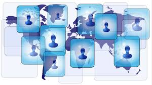helpful tips to make the most of your linkedin profile   career    several persons in social media network on world map