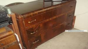 art deco bedroom furniture waterfall dresser mirror nightstand with resolution 1280x720 antique art deco bedroom furniture