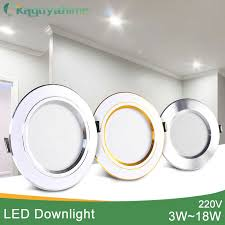 <b>Kaguyahime LED Spot Light</b> 5W 9W 15W 18W Silver White Ultra ...