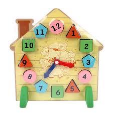 wooden block clock toy environmentally friendly toys magnetic building blocks digital house figure clocks vbf56 t20 buy environmentally friendly