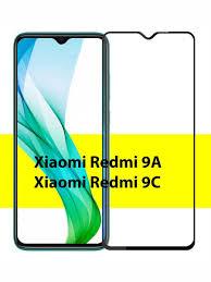 Защитное стекло на <b>Xiaomi Redmi</b> 9A / <b>Redmi</b> 9C (Ксиоми Сяоми ...