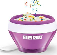 <b>Мороженица Zoku Ice Cream</b> Maker фиолетовая