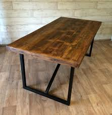 Industrial Style Kitchen Table New Industrial Style Dining Room Tables Home Design Great Cool And