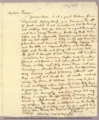 john adams elec intro website the letters between john and abigail adams help previous letter by letter from abigail smith to john adams