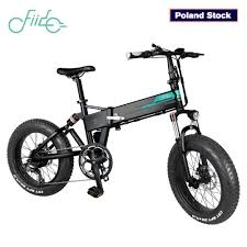 【EU STOCK】<b>FIIDO M1</b> Folding Moped <b>Electric Bike</b> Three Speed ...