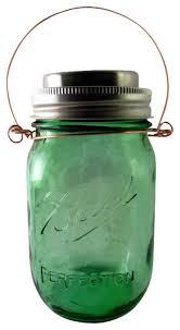 ball mason jar hanging solar light green outdoor hanging lights ball mason jar solar lights