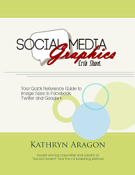 social media graphics crib sheet infographic kathryn aragon media the report