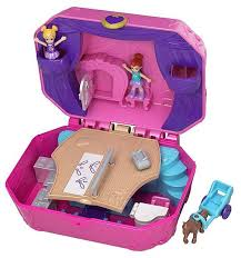Игровой <b>набор</b> Mattel <b>Polly Pocket</b> - Музыкальная шкатулка GCJ88