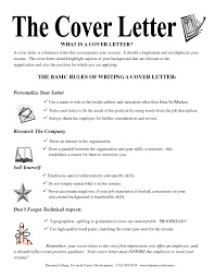What Is The Cover Letter For A Resume Cover Letter Database