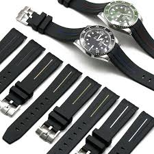 <b>Camouflage</b> rubber strap men 20mm for Rolex yacht Mingshi natural ...