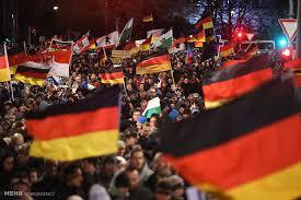 Image result for تظاهرات مردم آلمان