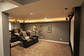 themed family rooms interior home theater: decorationscool small home theater cafe inspired decor big white projector screen black shag rug