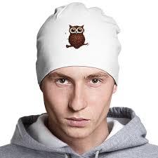 <b>Шапка</b> классическая унисекс Кофе-сова #2231169 в Москве ...