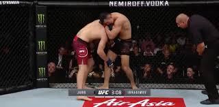 UFC Shenzhen Highlight Video: Da Un Jung Chokes Khadis ...