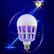 2 in 1 Bug Zapper <b>LED Bulb</b>, E27 15W <b>Mosquito Killer Lamp</b>, Pest ...