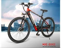 Pre-sale <b>Samebike SH26 Electric Mountain</b> Bike offered for $449.99