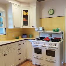 Remodeling Old Kitchen Carolyns Gorgeous 1940s Kitchen Remodel Featuring Yellow Tile