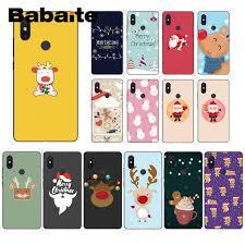 Babaite <b>Cartoon santa elk</b> merry christmas Pattern TPU Soft Phone ...