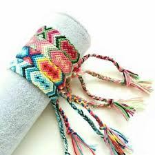 Braided Woven Thread Friendship <b>Handmade</b> Rope <b>Bohemian</b> ...