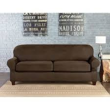 Sure Fit® Vintage <b>Faux Leather</b> Furniture Slipcovers | Bed Bath ...