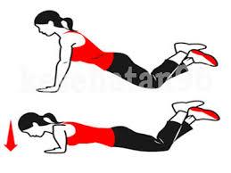 Hasil gambar untuk cara push up wanita yang baik dan benar