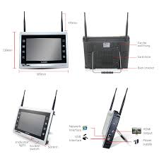 <b>Wetrans</b> WiFi <b>CCTV</b> Camera <b>System</b> HD 1080P Wireless Home ...