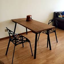 american country wrought iron wood desk table vintage american private custom pine furniture dining tables american country wrought iron vintage desk