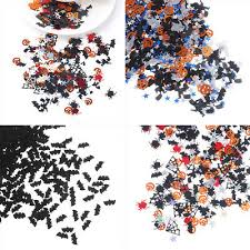 15g <b>Halloween</b> Confetti <b>Spider</b> Bat Cat Confetti Sprinkle Sequins ...