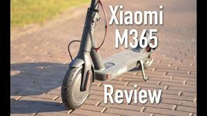 Review: Xiaomi m365 <b>electric scooter</b> - YouTube