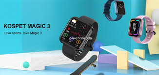 <b>KOSPET MAGIC 3</b> Review - Real SpO2 Monitor Smartwatch at $34.99