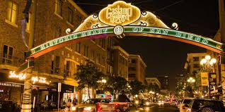 Image result for san diego gaslamp night