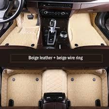 2019 <b>HLFNTF Custom Double Car</b> Floor Mat For Ssangyong All ...