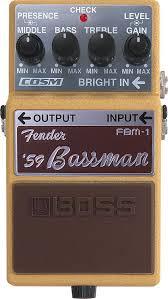 Статья «Гитарные <b>педали</b> Boss FDR-1 <b>Fender</b> '65 Deluxe Reverb ...